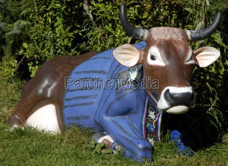 mostra mucca zurigo successo kuhausstellung plastikkuh