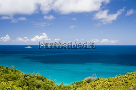 africa sguardo vista seychelles acqua salata