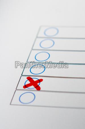 decisione di voto
