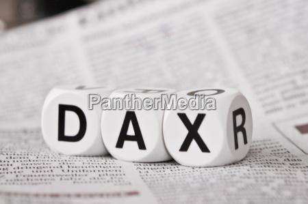 borsa stock exchange dax azioni dado