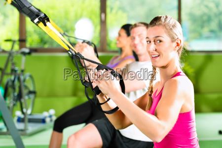 banda gruppo musicale fitness fitnessstudio stretchband