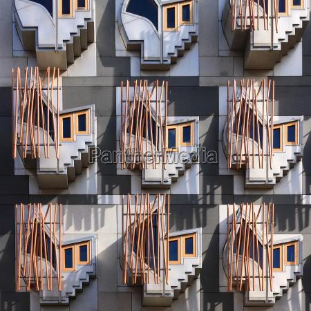 finestra parlamento facciata stile di costruzione