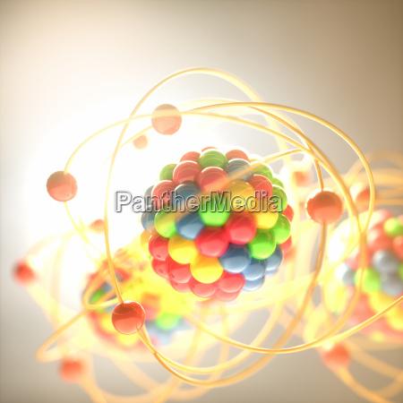 scienza potenza elettricita energia elettrica atomo