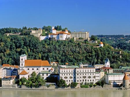 case fortezza danubio veduta della citta